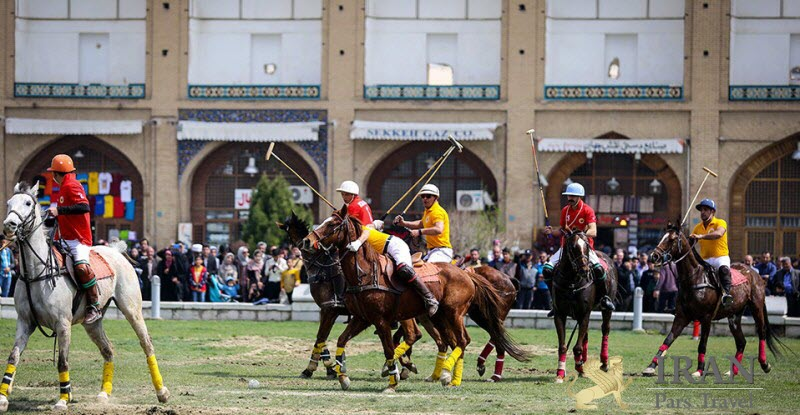 Naghsh e Jahan the world's oldest polo field